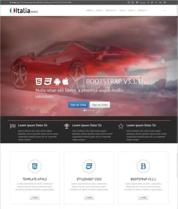Free Landing Page Templates 8941