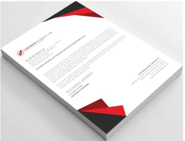 Letterhead Format In Word 541