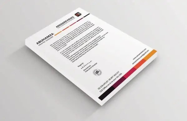 Letterhead Format In Word 69461