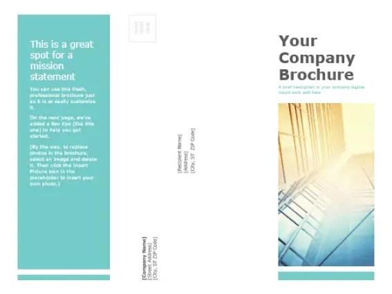 Tri Fold Brochure Templates 4