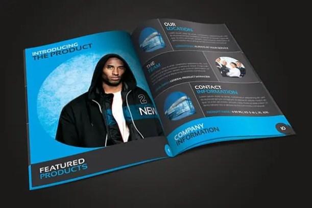catalog template 261