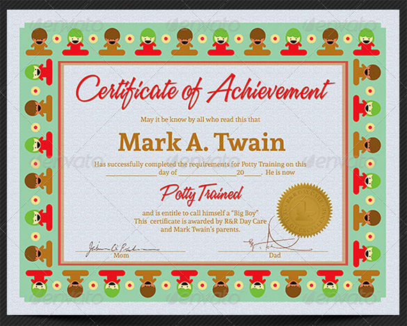 certificate format 4