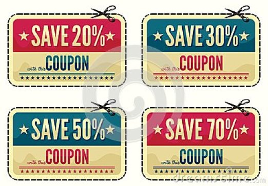 coupon template 164
