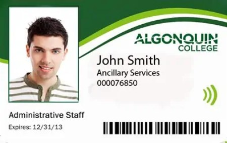 employee id card template 2641