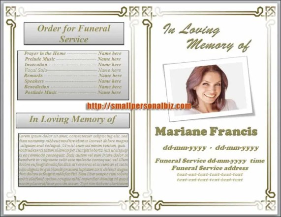 6  free funeral program templates microsoft word