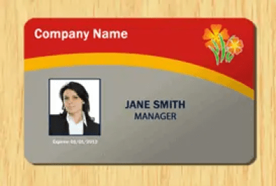 id card template 12