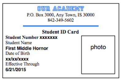 id card template 941