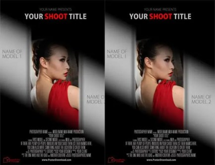movie poster template 464