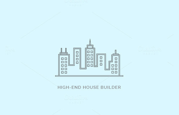 builder logo design 59