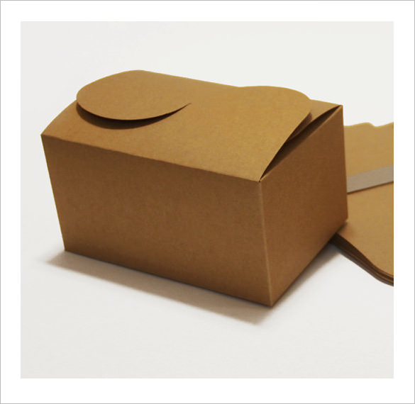 cake box template 61