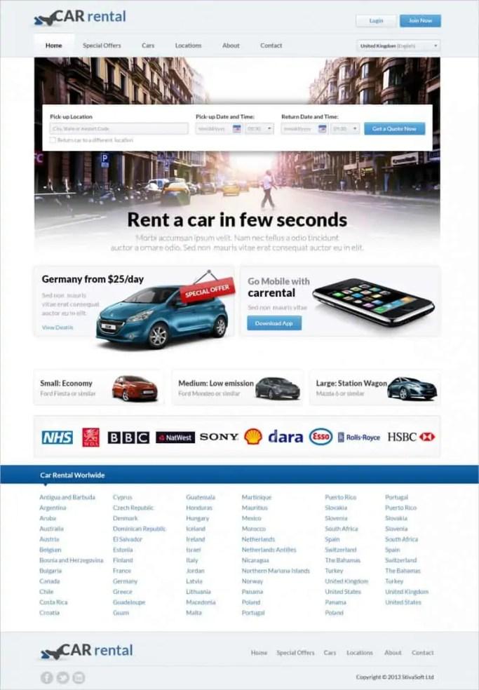 dynamic website template 79