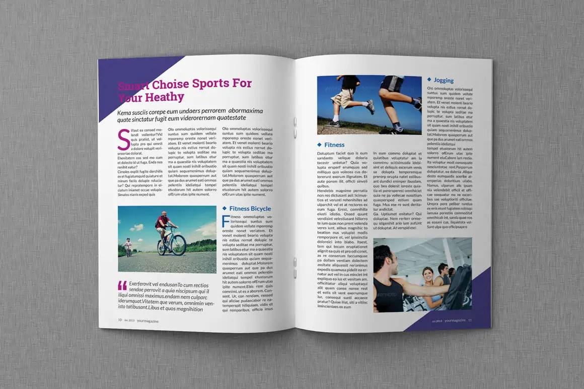 magazine article template microsoft word
