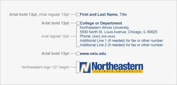 student email signature 361