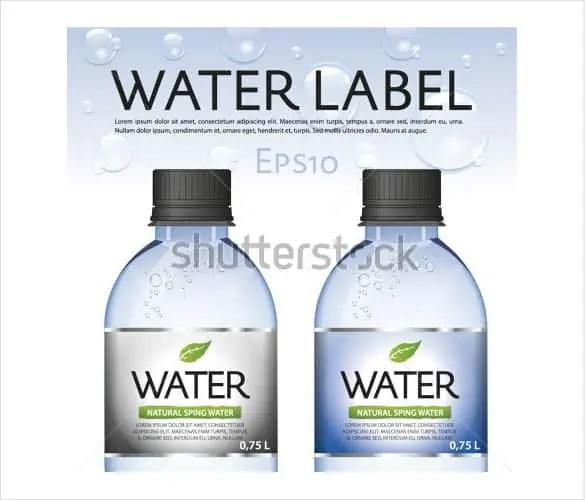 water bottle mockup 440