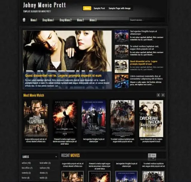 Cinema WordPress Themes 62