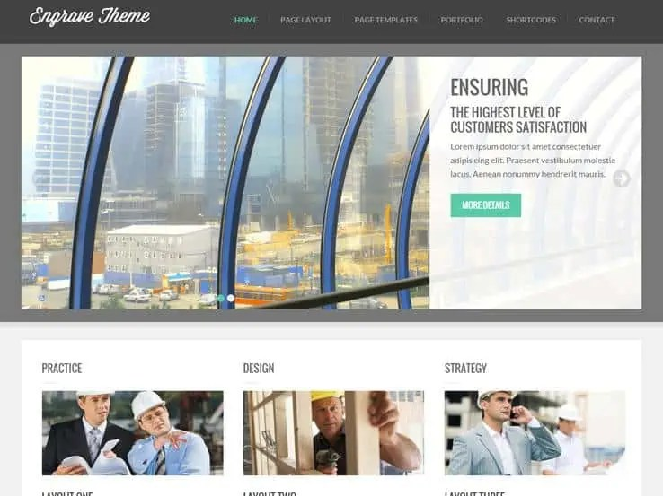 Interior Design WordPress Themes 52