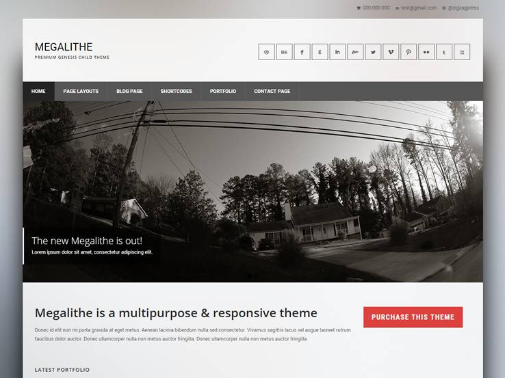 Interior Design WordPress Themes 72