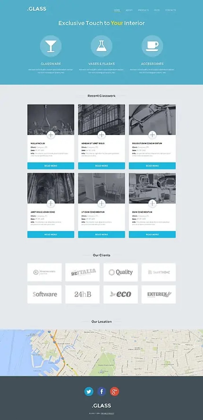 Interior Design WordPress Themes 82