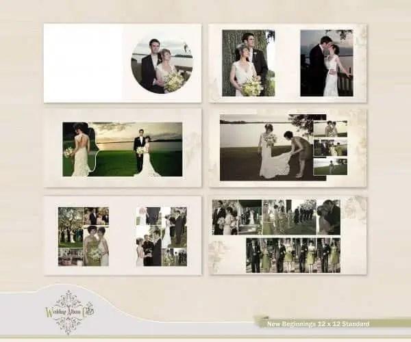 6 Wedding Album Templates Website Wordpress Blog