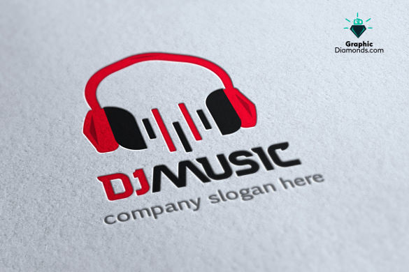 dj logo template 102