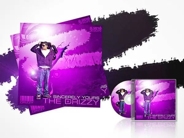 music cover psd 52