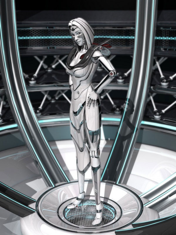 18 Best Futuristic And Glamorous 3D Robot Character Designs For Your Inspiration Templates Perfect