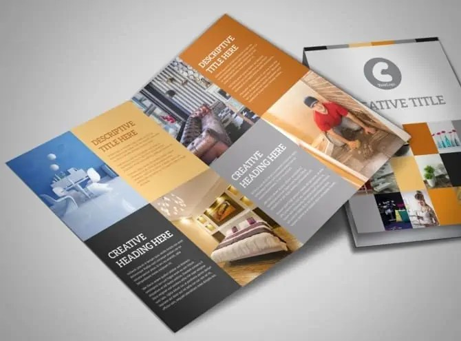 Interior Design Brochure Templates  Word Excel Samples