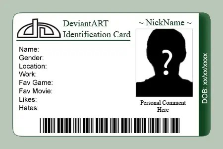 Revered image pertaining to free printable id cards templates
