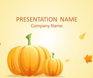 Pumpkin PowerPoint Template