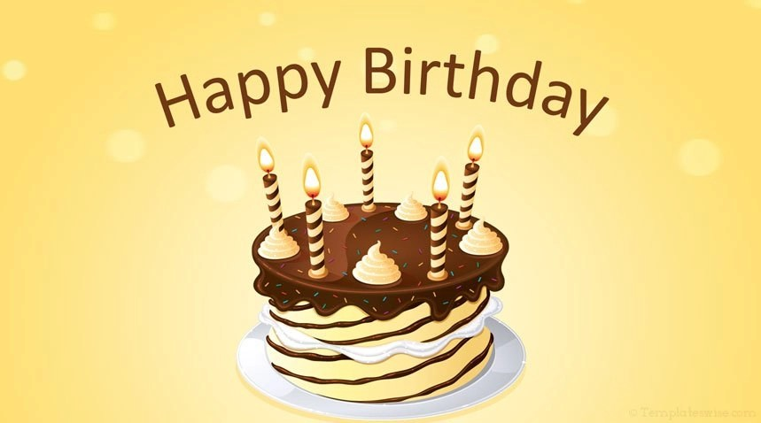 Happy Birthday Powerpoint Template Templateswise Com