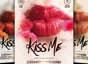 Kiss Flyer Templates