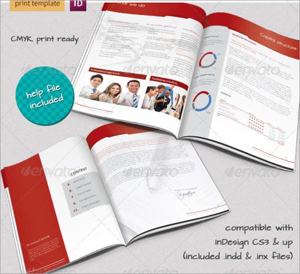Marketing Solutions Business A4 Brochure