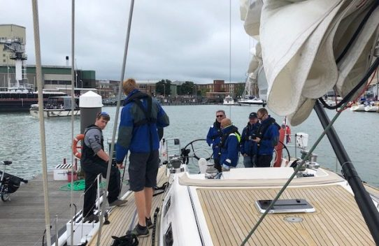 Sailing day in the solent 1