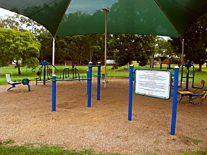 Gympie Outdoor Gym Equipment
