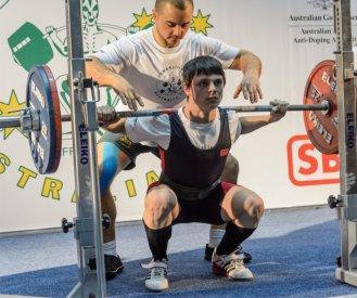 Australin Powerlifting Championships, Squat