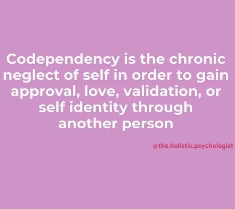 LET'S TALK CO-DEPENDENCY