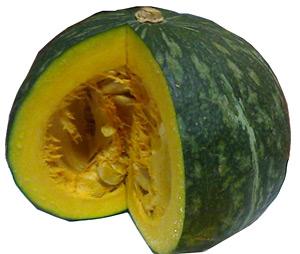 Kabocha Squash Japanese Pumpkin Food Product Of Usa