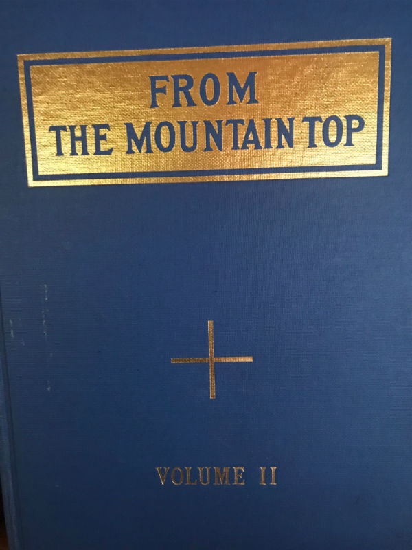 From the Mountain Top, Volume Two