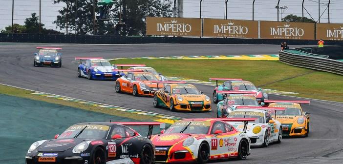 Porsche Cup Império coroa campeões de sprint na preliminar do GP Brasil de F1
