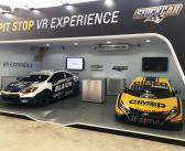 Carros da Cimed Racing são destaques no Salão do Automóvel nos estandes da Chevrolet e da Lubrax