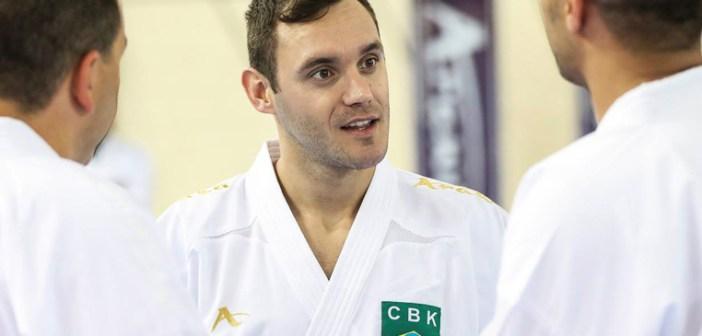 Em sua terceira competição pós-lesão, carateca Douglas Brose mira medalha na última etapa do ano da Liga Mundial