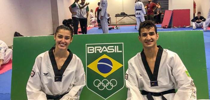 Há poucos dias do Mundial de Taekwondo, Talisca Reis e Netinho Marques sobem no ranking