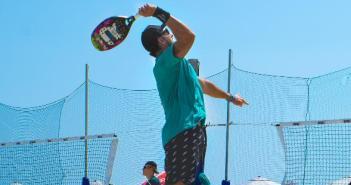 Alex Mingonzzi treinador do Brasil disputa etapa Mundial de Beach Tennis em João Pessoa