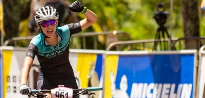 Giuliana Mongen vence etapa de Araxá na CiMTB