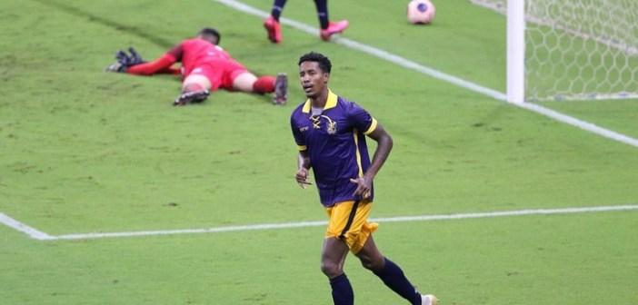 Titular em todos os jogos da temporada, Gelson comemora primeiro gol pelo Retrô