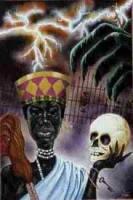 Resultado de imagen para santa muerte santeria