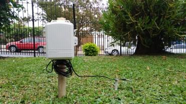 Sensor de Temperatura da Relva do bairro Languiru