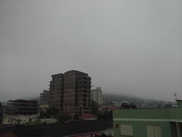 Vista do Morro de Languiru, por volta das 10h