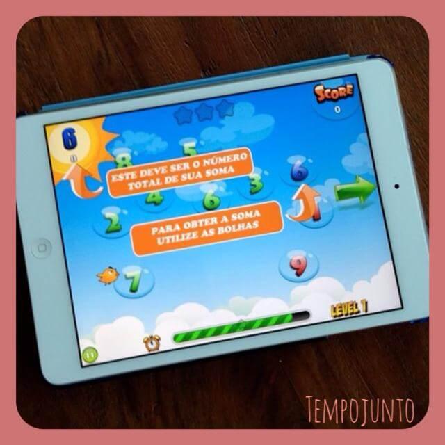 Dicas de aplicativos para as crianças