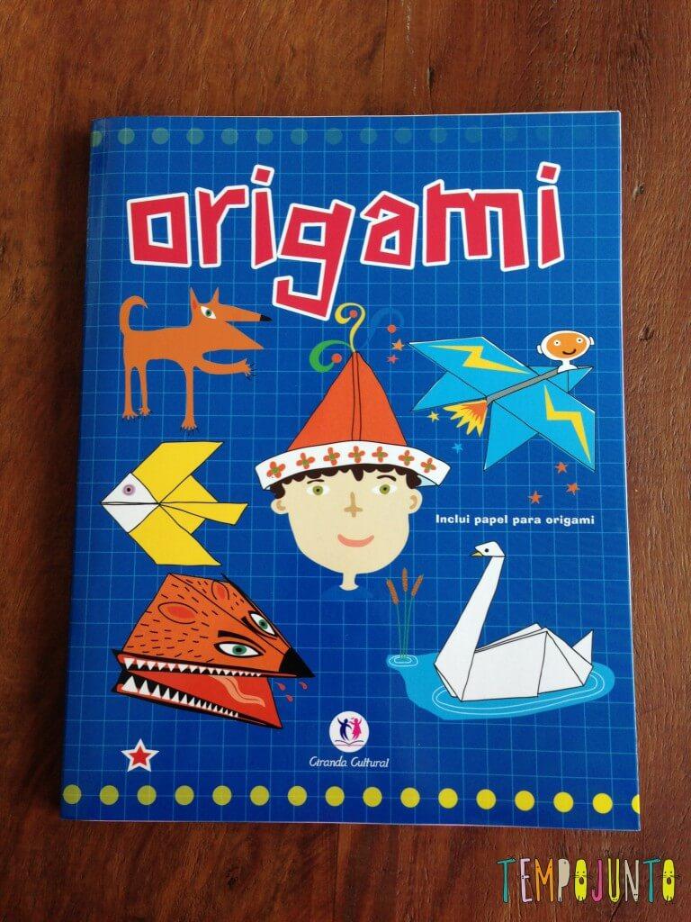 Da minha infância direto para a da Carol - Come-Come - livro origami